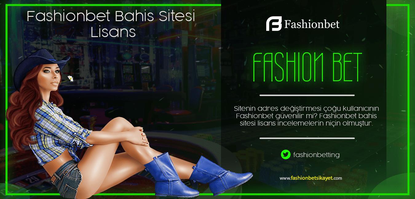 Fashionbet Lisans