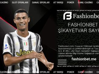 Fashionbet Şikayetvar Sayfası