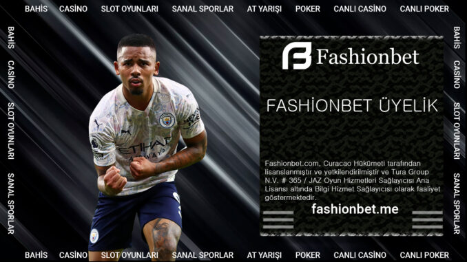 Fashionbet Üyelik