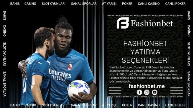 Fashionbet Yatırma Seçenekleri
